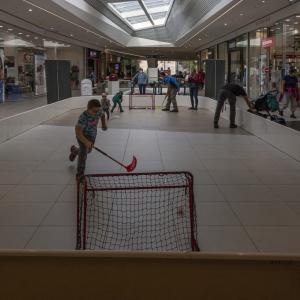Sportovní hry v OC Central Jablonec n/N
